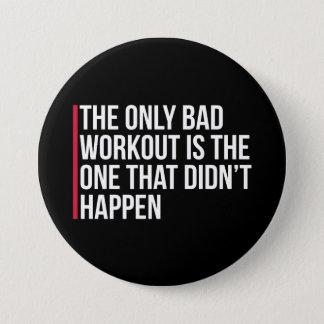 Bóton Redondo 7.62cm As únicas citações más do Gym do exercício