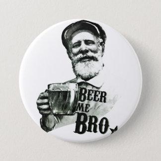 Bóton Redondo 7.62cm Cerveja mim Bro