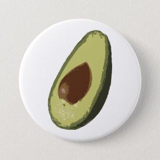 Bóton Redondo 7.62cm Crachá do botão do abacate