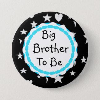 Bóton Redondo 7.62cm O big brother a ser estrelas, luas e coração