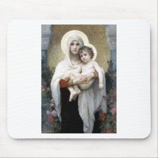 Bouguereau Madona com religião da cristandade dos  Mousepad