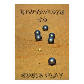 Boule Convite 12.7 X 17.78cm