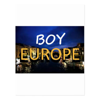 boyeurope cartões postais