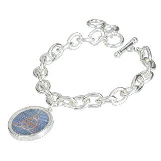 Braceletes Com Pingente Trindade azul Triquetra do ouro inquisidor de