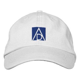 Branco/azul do boné dos alunos de ADAA