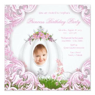 Branco da festa de aniversário da princesa