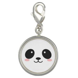 Branco da panda pingentes