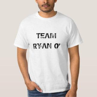 Branco de RYAN O da EQUIPE Camisetas