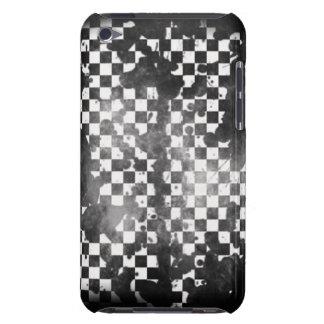 Branco do ipod touch no verificador preto capa para iPod touch