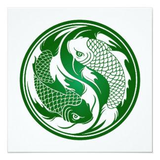 branco green.jpg de yang do yin do koi convite personalizados