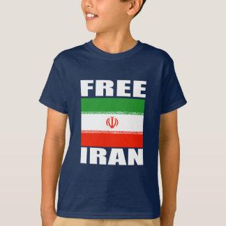 Branco livre do t-shirt de Irã