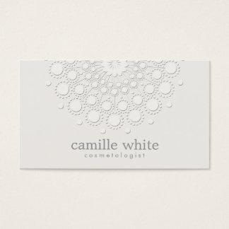 Cartões de visita com cores claras na Zazzle
