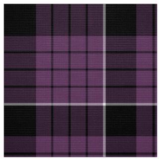 Branco preto violeta ID305 do teste padrão do Tecido