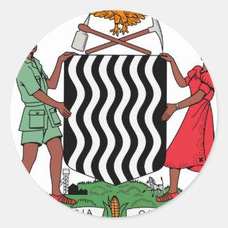 Brasão da Zâmbia Adesivo