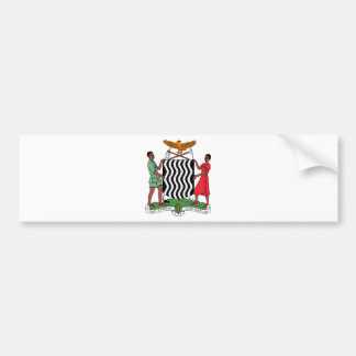 Brasão da Zâmbia Adesivo Para Carro