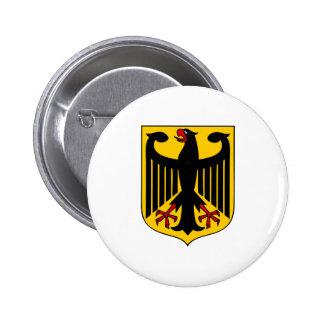 Brasão de Alemanha Bóton Redondo 5.08cm