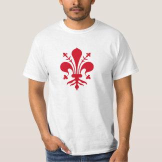 Brasão de armas de Florença Tshirts