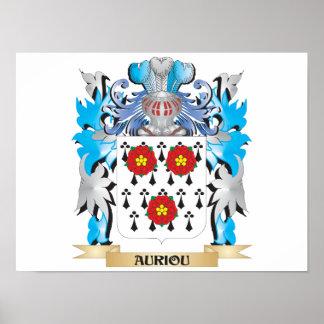 Brasão de Auriou Impressão