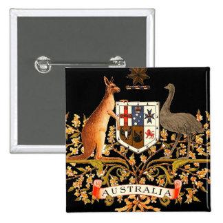 brasão de Austrália Pins