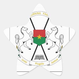Brasão de Burkina Faso Adesivos Estrelas