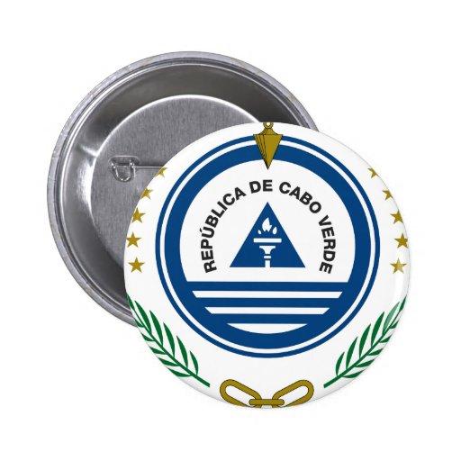 Brasão de Cabo Verde Pins