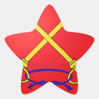 Brasão de Comtat Venaissin (France) Adesivos Estrelas