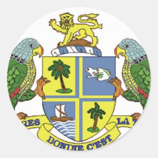Brasão de Dominica Adesivo
