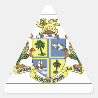 Brasão de Dominica Adesivos Triângulo