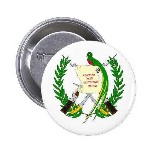 Brasão de Guatemala Botons