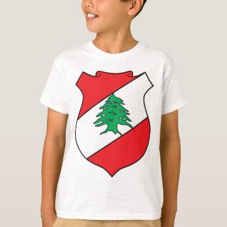 Brasão de Líbano T-shirt