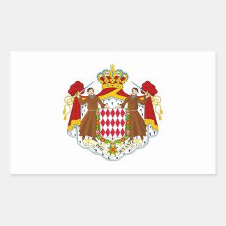 Brasão de Monaco Adesivos Retangulares