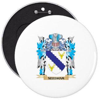 Brasão de Needham - crista da família Botons