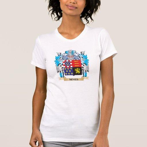 Brasão de Neves - crista da família Camisetas