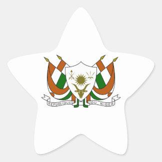 Brasão de Niger Adesivos Estrelas