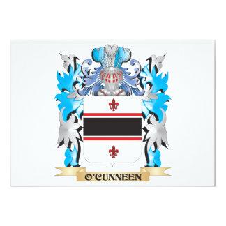 Brasão de O'Cunneen - crista da família Convites Personalizados