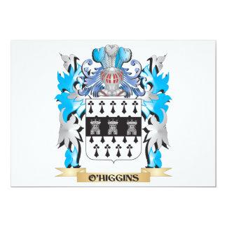 Brasão de O'Higgins - crista da família Convite Personalizado