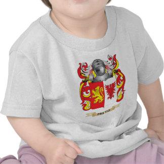Brasão de Preto (crista da família) Tshirts