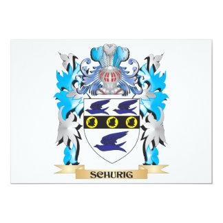 Brasão de Schurig - crista da família Convite Personalizados