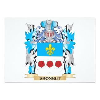 Brasão de Shongut - crista da família Convites Personalizado