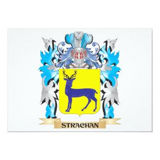 Brasão de Strachan - crista da família Convites Personalizados