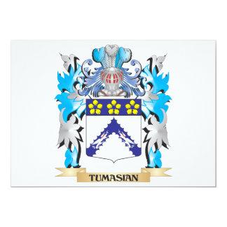 Brasão de Tumasian - crista da família Convite Personalizado