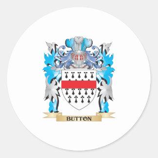 Brasão do botão adesivos redondos