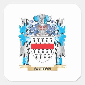 Brasão do botão adesivo quadrado