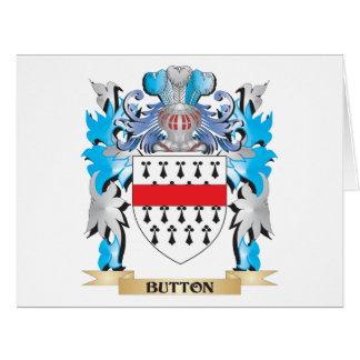 Brasão do botão cartão comemorativo grande
