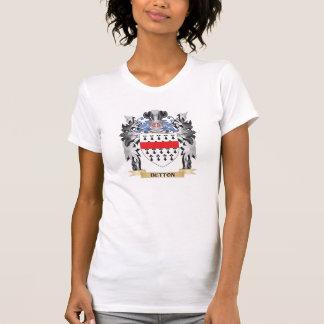 Brasão do botão - crista da família t-shirt