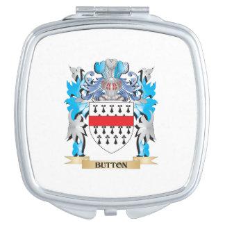 Brasão do botão espelhos de maquiagem