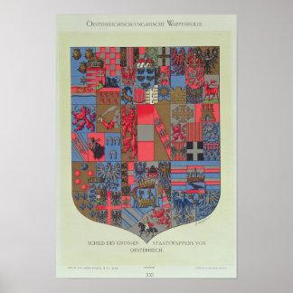 Brasão do império Austro-Húngaro Poster