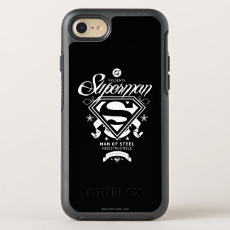 Brasão do superman capa para iPhone 7 OtterBox symmetry