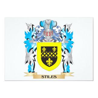 Brasão dos Stiles - crista da família Convite