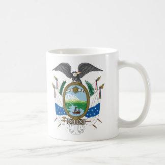 Brasão histórica de Equador (1845) Caneca De Café
